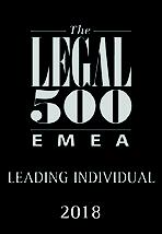 Legal 500 Leading Individual 2018