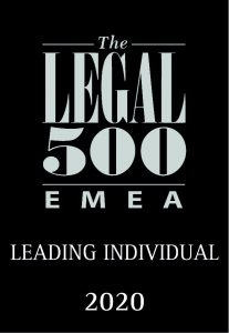 Legal 500 Leading Individual 2020
